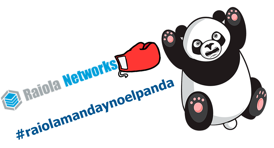 #RaiolaMandayNoElPanda